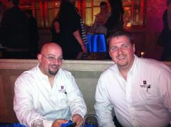 Some of our WineTable team: Sommelier Jeff Cameron and President Paul Giese.