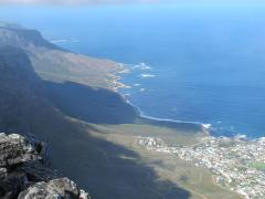 South from Cape Town